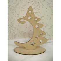 10 Arvore Natal ,pinheiro,pinheirinho,enfeite Natal,mdf Cru