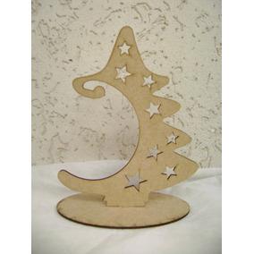 30 Arvore Natal,pinheiro,pinheirinho,enfeite Natal,mdf Cru