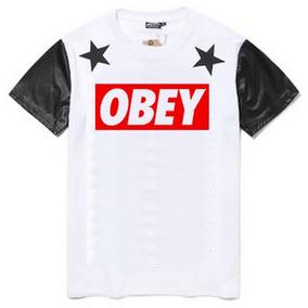 Camisa Obey Swag Last Kings Tyga Camiseta Luxo Ny La