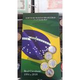 Álbuns Para Moedas Brasil Família Real E Comemorativas