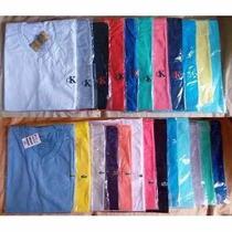 Kit 10 Camisetas Gola V Masculina Várias Marcas Oferta
