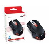 Mouse Genius Gamer Óptico X-g200 Usb 1000dpi Preto