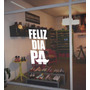 Plotter Papá, Vinilo Vidriera Día Del Padre. Carteleria.