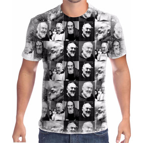 Camiseta Personalizada Santo Padre Pio 007