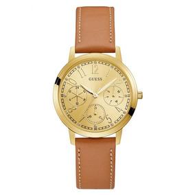 Reloj Lattice Marrón Guess