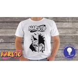 Camiseta Do Naruto Animes Geek Mangá M98 C2404
