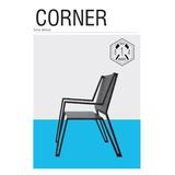 Silla Moderna Diseño Industrial Corner Metal - Cordoba