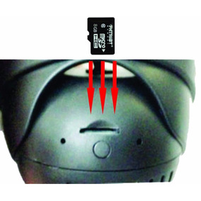 Camera 24 Leds Grava Em Cartao De Memoria Sd Card Com Audio