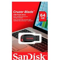 Pen Driven Sandisk 64gb Lacrado