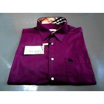 Camisa Social Burberry Slim Fit 100% Original Made England