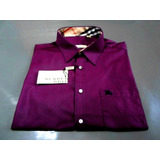 Camisa Social Burberry Slim Fit 100% Original Made England