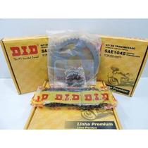 Kit Relacao D.i.d Cg / Titan / Fan 150