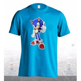 Camisa, Camiseta Sonic Game Jogo