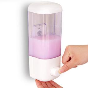 Dispensador Jabon Liquido Shampoo Blanco Champu Pared H2028