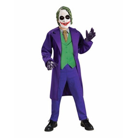 Disfraz Niño Joker Traje Guason Batman Halloween