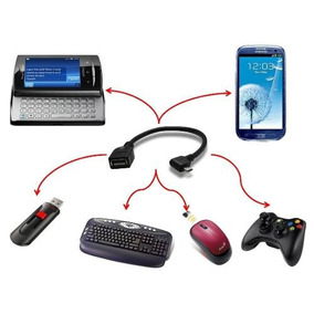 Cable Adaptador Otg Micro Mini A Usb Hembra Tablet Celular