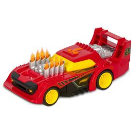 Carrinho Roda Livre - Hot Wheels - Road Rippers - Flame - Ve