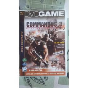 Dvd Original Do Jogo Pra Pc Commandos 3 - Destination Berlin