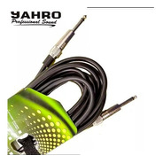 Cable Instrumento Jahro Plug Plug 90 Cm
