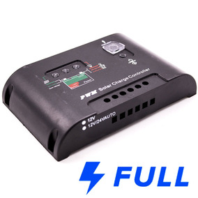 Controlador Carga 20 Amperes 12v/24v Painel Solar Envio Full
