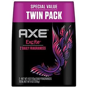Hacha Bodyspray, Excite 4oz Twin Pack