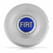 Calota Centro Miolo Roda Stilo Aro 16 Fiat Azul