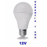 Lampada Led 12v 8w E-27 Energia Solar (pronta Entrega)