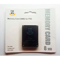 Memory Card Original Jzr 8mb Playstation 2 - Ps2 - Novo !!!