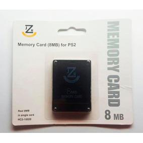 Memory Card Original Jzr 8mb Playstation 2 - Ps2 - Novo !!!