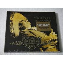 Vicente Fernandez Un Azteca En El Azteca 2cd+1dvd