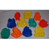 11 Looney Tunes Play-doh Mold Vending Toys Con Bugs Bunny,