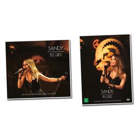 Sandy - Dvd + Cd Digipack - Meu Canto - Ao Vivo ** Lacrados