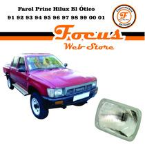Farol Princ Hilux Bl Ótico 91 92 93 94 95 96 97 98 99 00 01