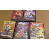 Dvd Power Rangers Títulos Em 10 Dvd