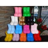 10 Botinhas Botas Cerâmica Decoração Festa-galochas-vasinho