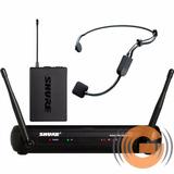 Microfone Shure Auricular Svx14 Br / Pga31 Credenciada Shure
