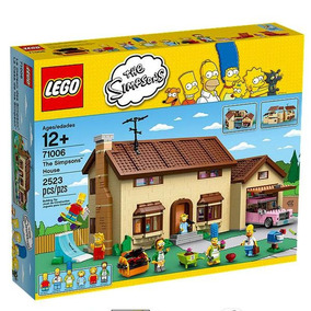 The Simpsons House Lego 71006