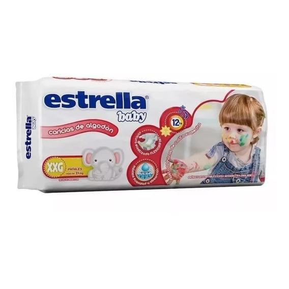 Estrella Baby Xxg Hiperpack X 34 Pa?ales Farmaservis