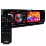 Dvd Player 1 Din Pioneer Dvh-7880av 3 Pol Usb Aux Mp3 Rádio