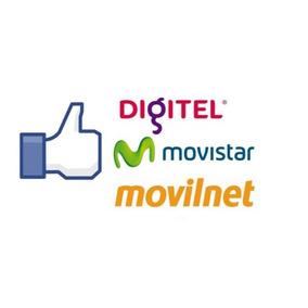 Recargas De Saldo Movilnet, Movistar, Digitel Rapido¡¡