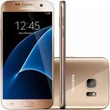 Smartphone Samsung Galaxy S7 G930f Dourado (de Vitrine)