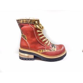 Calzado De Mujer, Borceguí Botineta Luciano Marra Zapatos