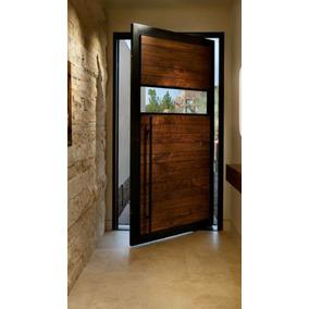 puerta pivotante industrial