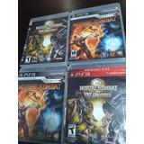 Ps3 Mortal Kombat 9 - Mk Vs Dc Universe