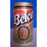 Lata Antiga Da Cerveja Belco Lacrada