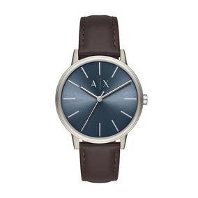 661e614cae6b4 Relógio Armani Exchange Uax 5102 Ax Couro Com Nota Fiscal - Relógios ...