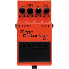 Pedal De Guitarra Boss Md-2 Mega Distortion Md 2 Garantia Nf