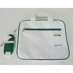 Bolso Morral Porta Notebook Lacoste Original Importado