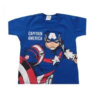 Kit 3 Camiseta Infantil Juvenil Menino Personagens Herois