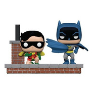 Figura Funko Pop, Batman Y Robin 1972 - Comic Moment - 281